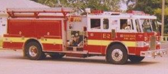Village of Farm Ridge Fire Truck